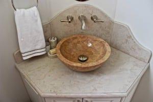 Bathroom Sink - Carr Stone marble