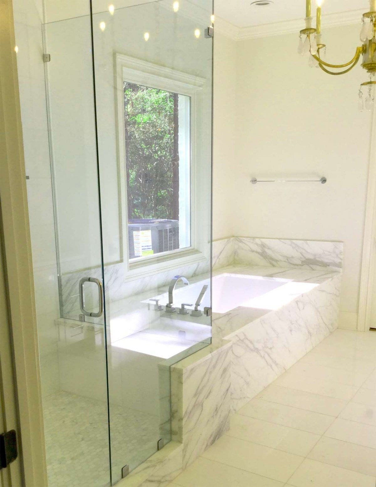 Marble Bathroom by Carr Stone & Tile