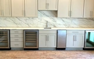 Marble Kitchen Design by Carr Stone & Tile