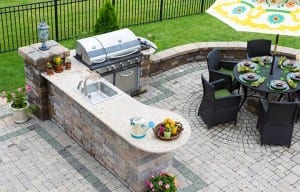 Outdoor Floors and Countertops - Carr Stone & Tile