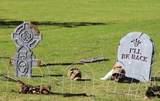 Fake Graveyard