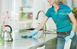 How To Keep Your Countertops Clean & Great Looking, Deep Clean