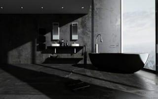2019 Trends: Dark Bathrooms