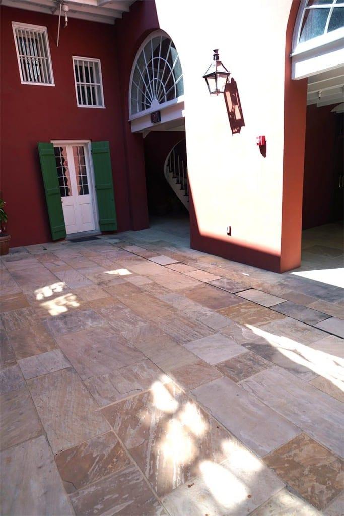 Outside Slate Tile