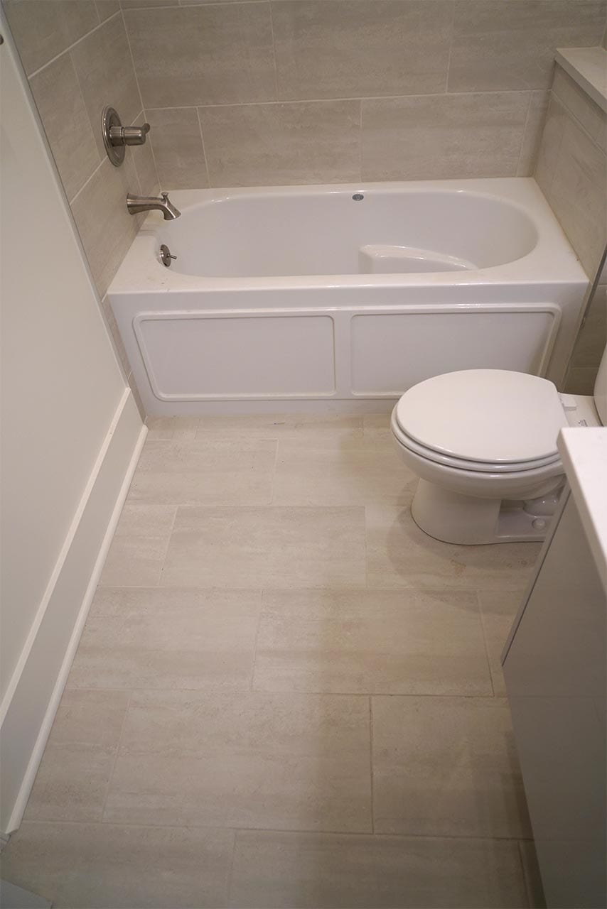 Natural Stone Bathroom floor