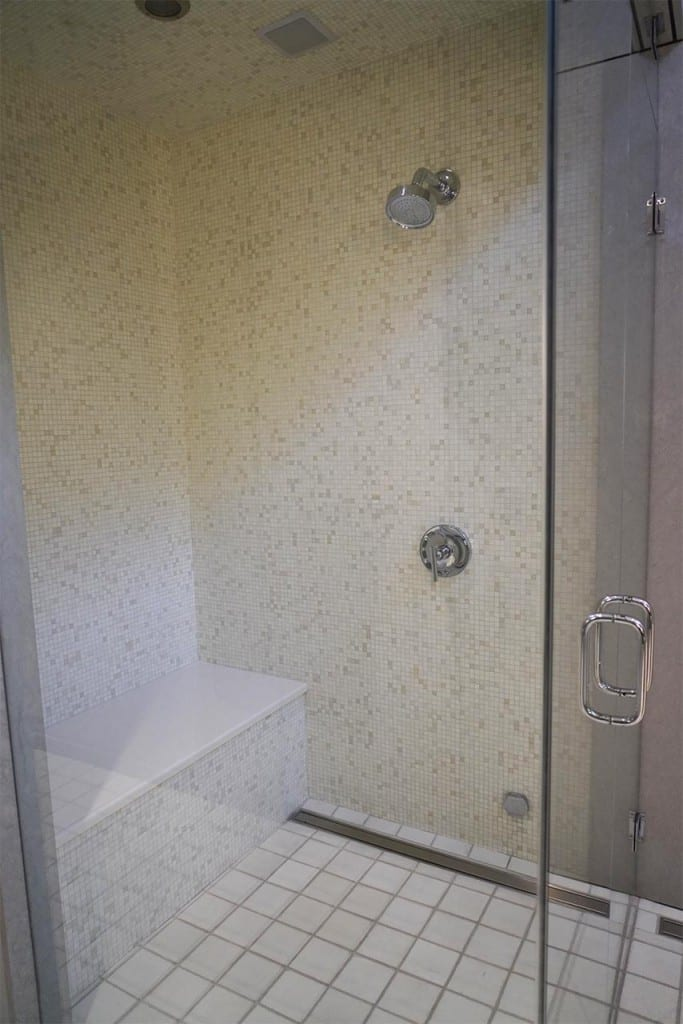 modern Quartzite  Shower