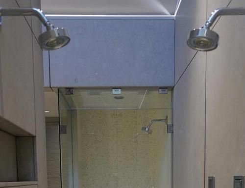 Modern Stone Shower