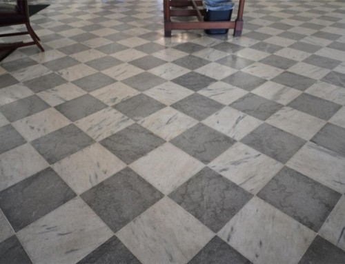 Marble Floor Cleanup After A Flood